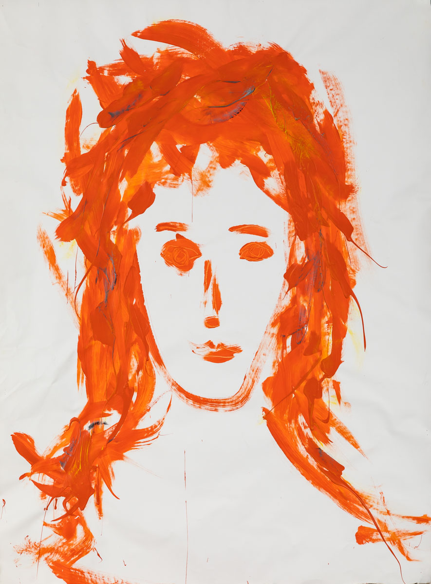Portrait in Orange